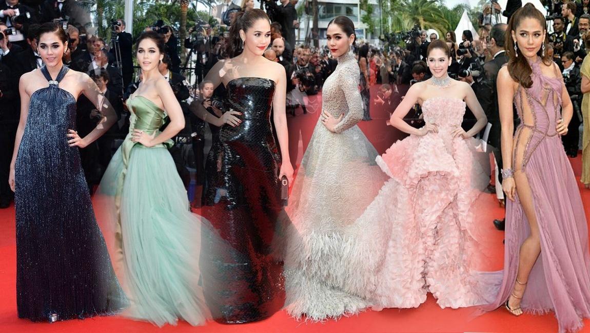 """เทศกาลหนังเมืองคานส์ 2016 กรุงปารีส ชมพู่สวยสง่า รับฉายาเป็น """"Queen of Cannes"""""""
