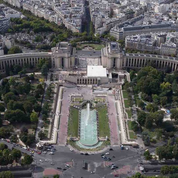 รีวิวอนุสรณ์สถาน ปราสาท Palais de Chaillot