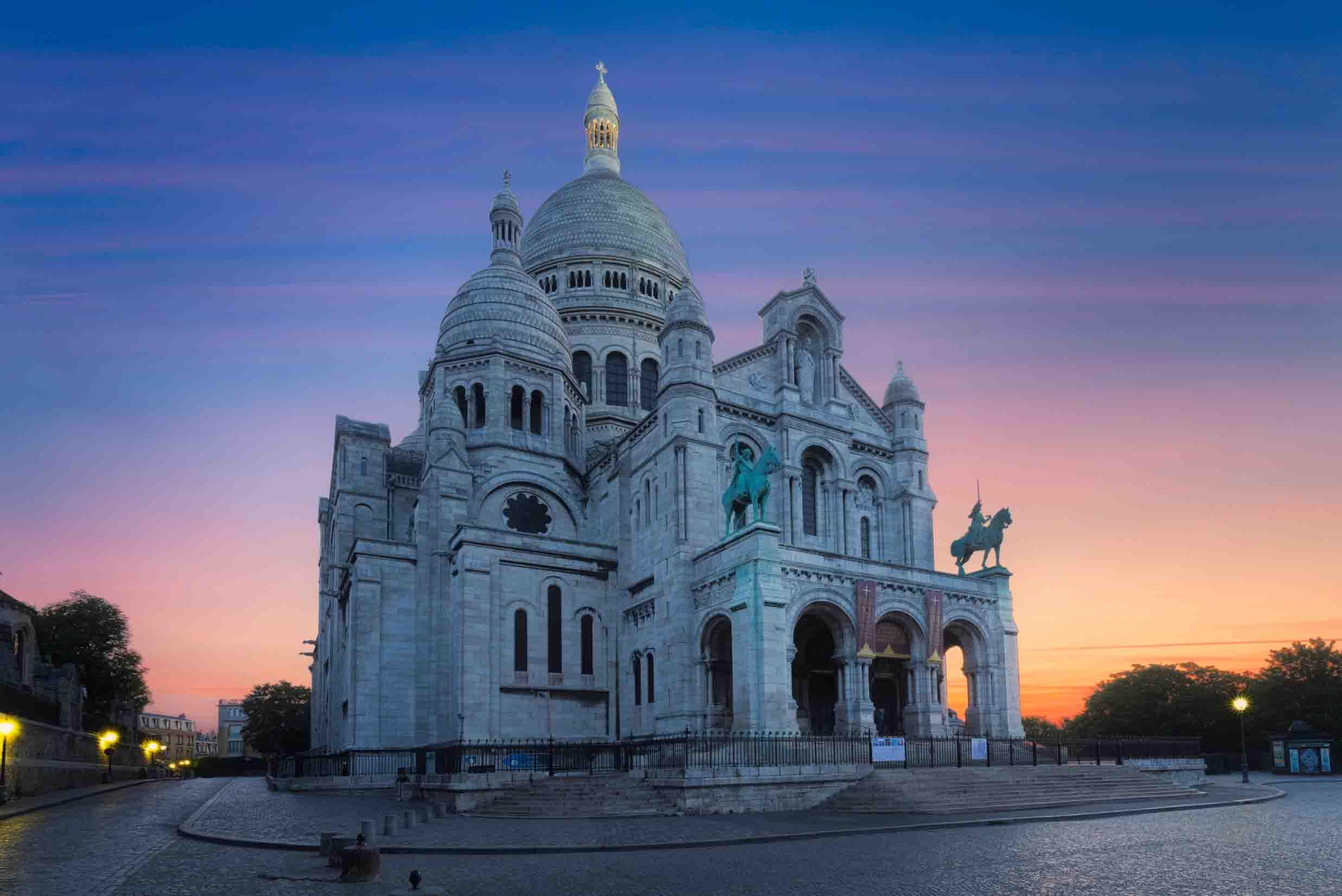 Basilique du Sacre-Coeur de Montmartre, Paris